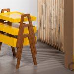 hardal sarısı dekoratif zigon sehpa 2016