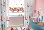 taç çocuk odası stor perde modelleri 2016