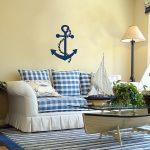 deniz temalı ev dekorasyonu