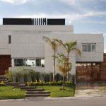 lüx beyaz modern villa tasarımı