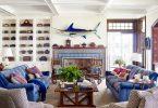 marin stili yazlık ev dekorasyonu