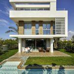 muhteşem tasarım beyaz villa