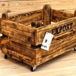 Oldwooddesign Tekerlekli Kasa