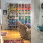 renkli kitaplar ile dekorasyon fikirleri