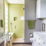 açık yeşil banyo fayansları