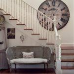 ahşap büyük dekoratif duvar saati