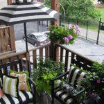 dekoratif balkon oturma takımı