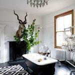 doğal ve estetik banyo dekorasyonu