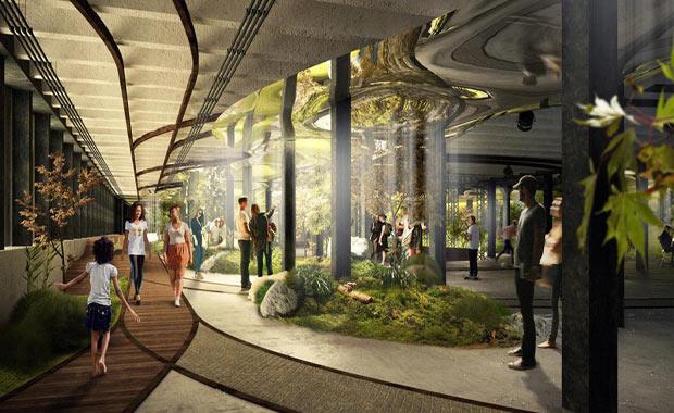 dünyanın ilk yeraltı parkı