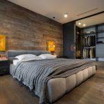 endüstriyel modern yatak odası