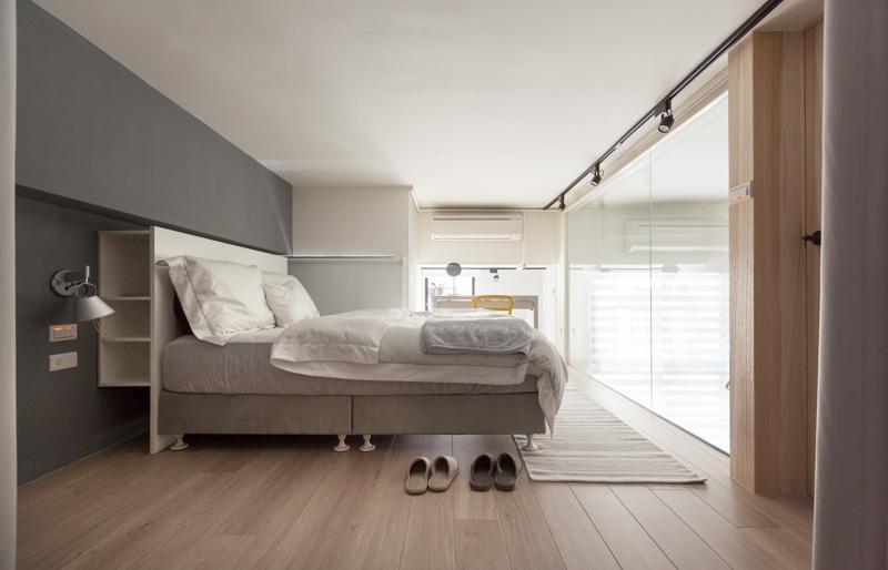 Endüstriyel Modern Yatak Odası Dekorasyonu