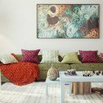 estetik kadınsı salon dekorasyon fikirleri