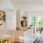 estetik ve sıcak detayları ile iskandinav mutfağı