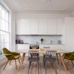 iskandinav tarzı modern mutfak dekorasyonu