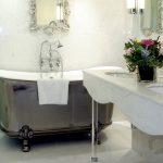 lüx banyo dekorasyonu