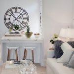 metal büyük dekoratif duvar saati