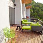 renkli balkon mobilyaları