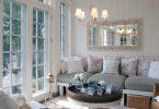 romantik salon dekorasyon fikirleri