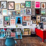 sanatsal duvar dekorasyon fikirleri