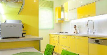 sarı mutfak dekorasyon fikirleri