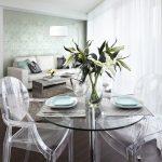 şeffaf masa ve sandalye fikirleri