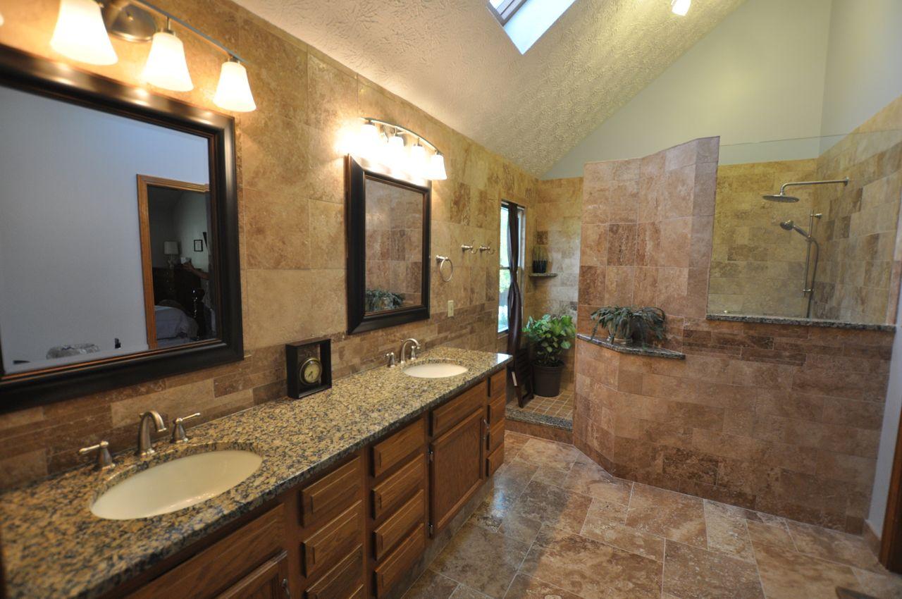 Taş Banyo Dekorasyonu