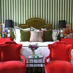 yatak odasında kırmızı çekiciliği
