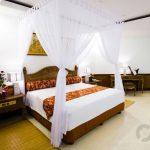 zarif yatak odası dekorasyonu