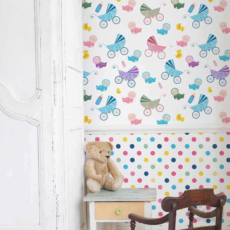 renkli sevimli duvar kağıtları