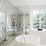 aynalı banyo duvar kaplaması