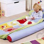 dekoratif şişme çocuk yatağı