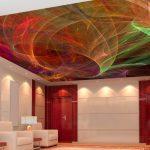 etkileyici gergi tavan dekorasyonu