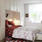 küçük yatak odası dekorasyonu 2017