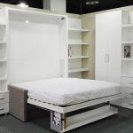 küçük yatak odası için akıllı mobilyalar