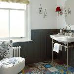 modern victorian stili patchwork fayanslar