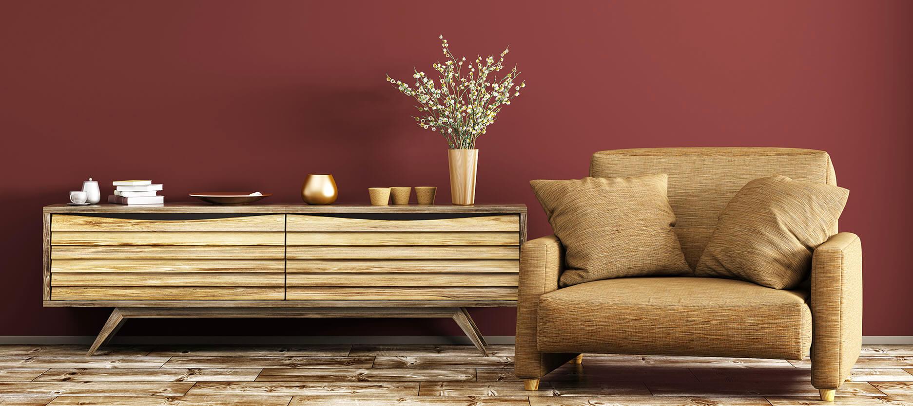 oturma odası için uygun duvar renkleri nelerdir