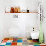 rengarenk banyo yer karoları
