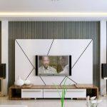 televizyon arkası dekorasyonu