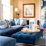 mavi salon dekorasyon fikirleri 201