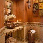 turuncu banyo dekorasyonu (5)