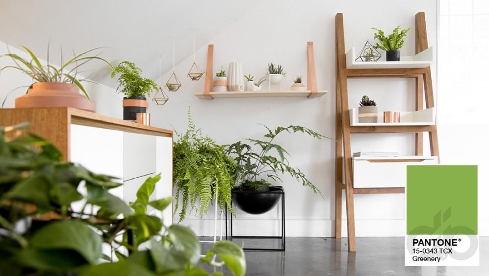 2019 Pantone : Evlerde Greenery İle Doğaya Dönüş