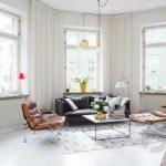 beyaz zemin ile rahat oturma odası 2017