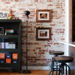 eskitme tuğla kaplama duvar dekorasyonu