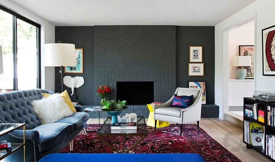 mat renk tuğla duvarlar