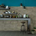 modern ahşap görünümlü mutfak seramikleri 2017