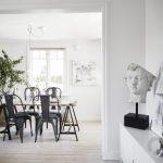 modern iskandinav tarzı ev dekorasyonu 2017