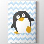 sevimli penguen bebek odası tablo