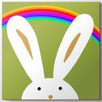 sevimli tavşan tablo