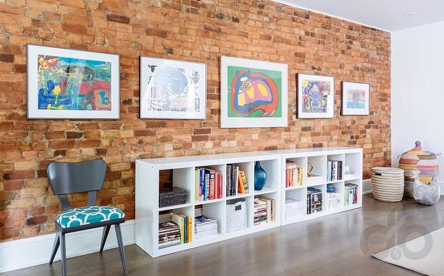 tuğla duvar dekorasyon fikirleri 2017