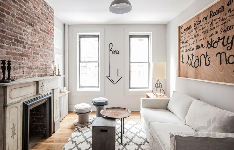 tuğla kaplama duvarlar ile modern dekorasyon